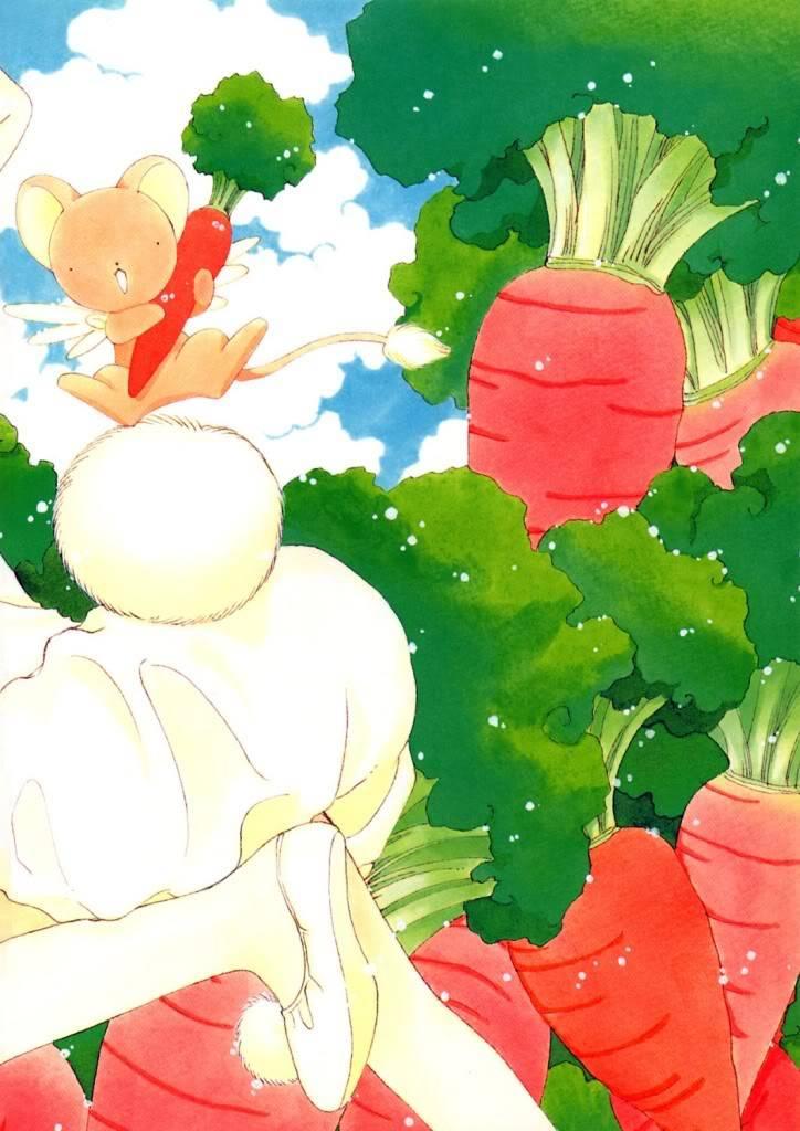 [Non-DC][Artbook] Card Captor Sakura Illustrations Collection 1 086