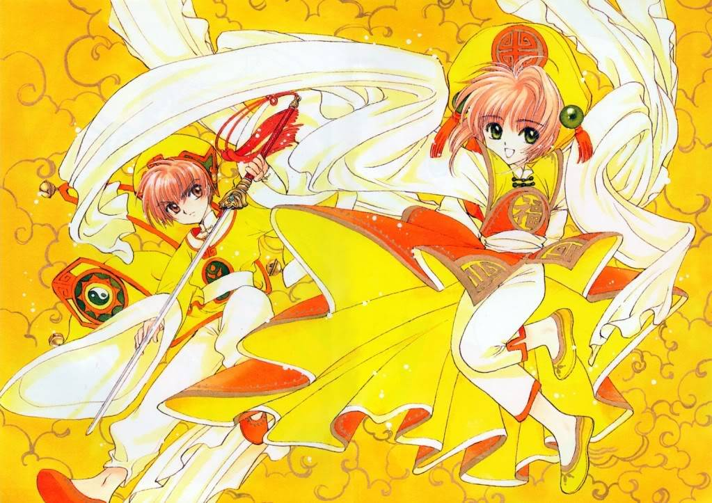 [Non-DC][Artbook] Card Captor Sakura Illustrations Collection 1 090