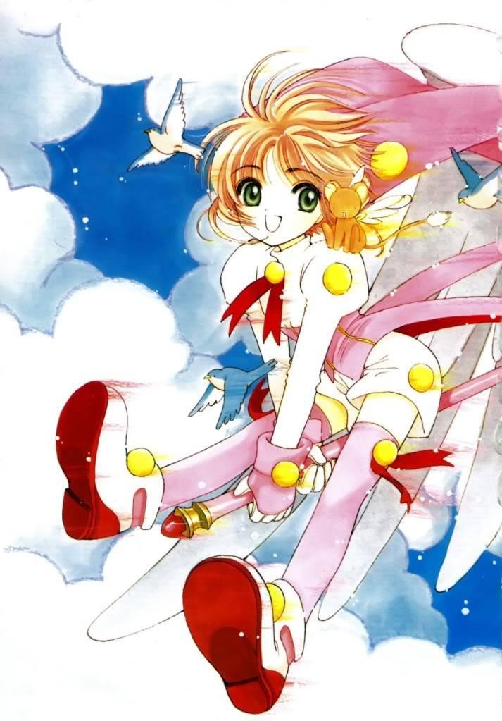[Non-DC][Artbook] Card Captor Sakura Illustrations Collection 1 095