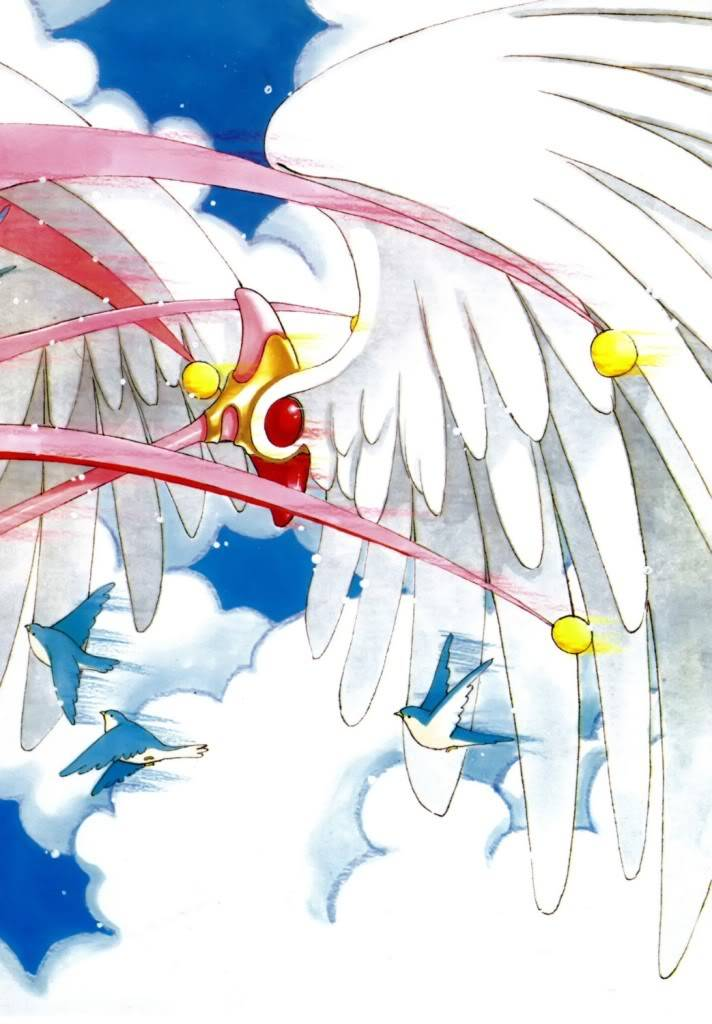 [Non-DC][Artbook] Card Captor Sakura Illustrations Collection 1 096