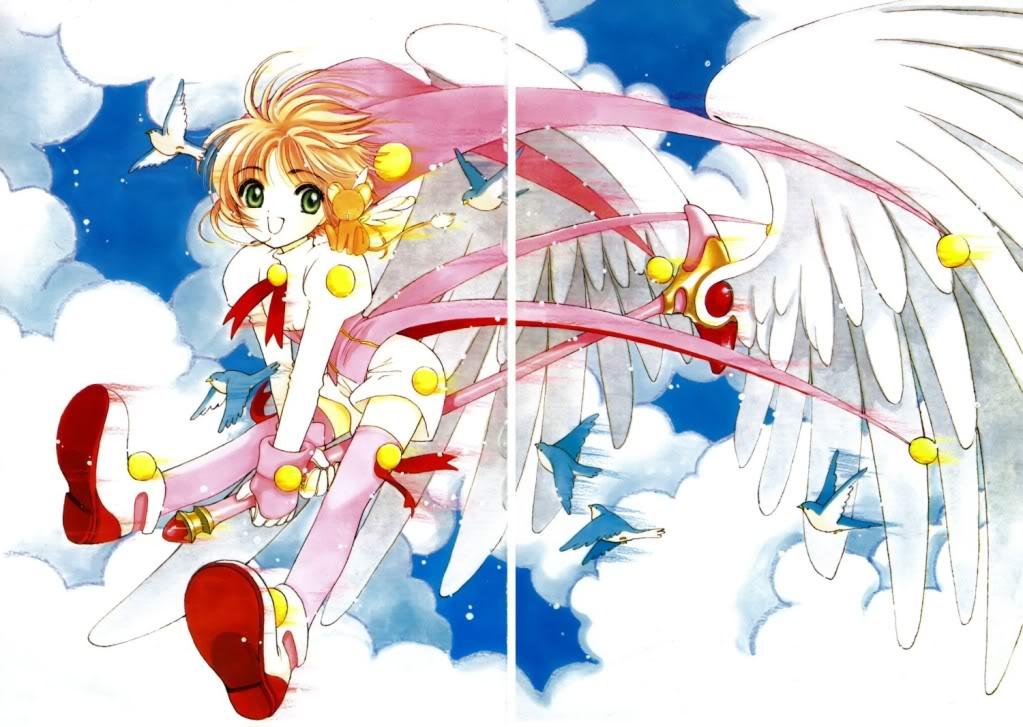 [Non-DC][Artbook] Card Captor Sakura Illustrations Collection 1 097
