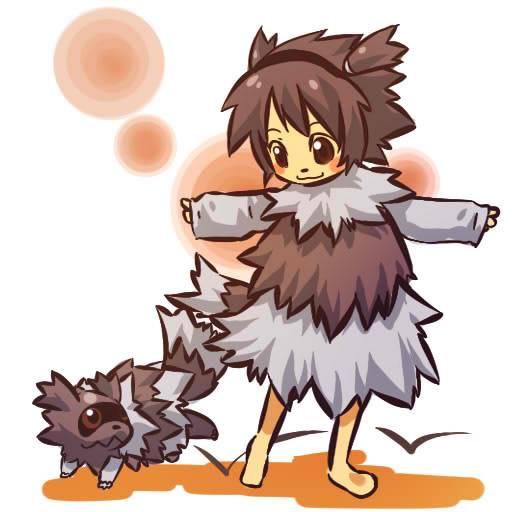 [Non-DC] Human Pokemon 263