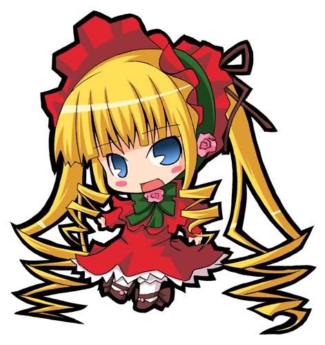 Rozen Maiden Shinku-chibi