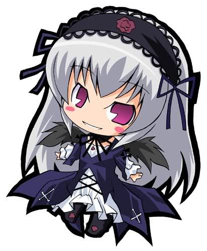 Rozen Maiden Suigintou-chibi