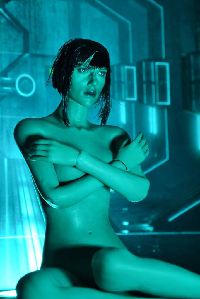 ghostintheshell - Ghost in the Shell - Major - CAT TOYS (slight nudity) Ghostintheshell_03