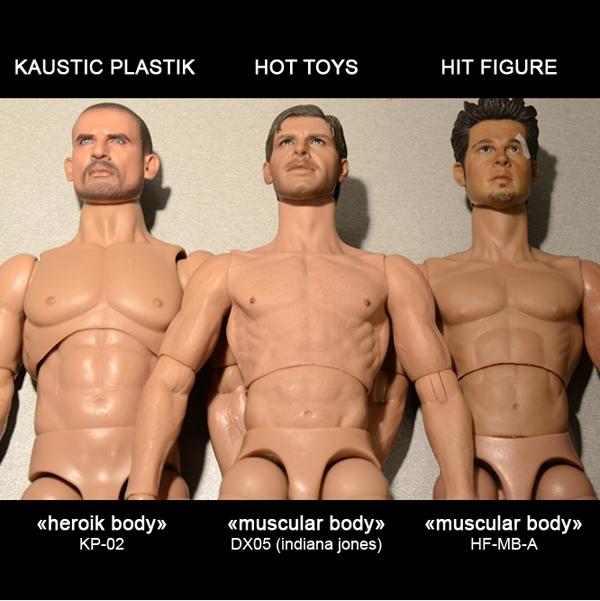 les pros de la gonflette (Kaustic - Hit figures) Skintones