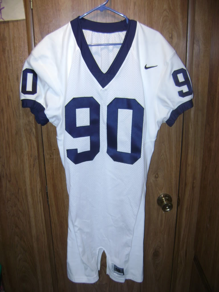 My College game worn items 001