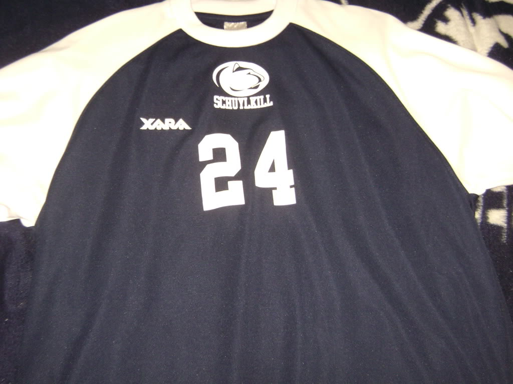 My College game worn items 003