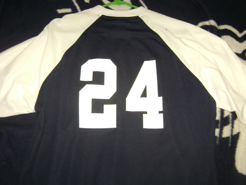 My College game worn items 004