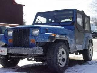 Project YJ! Jeepwinter