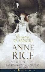 Crónica Vampíricas - Anne Rice CanticodeSangre