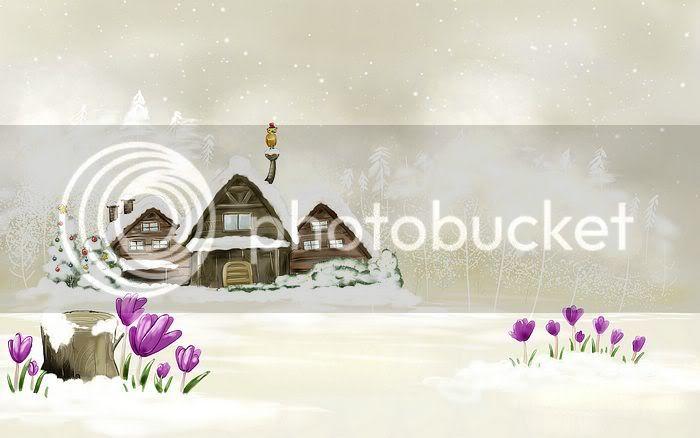 wallpaper khung cảnh mùa đông Vector_winter_illustration_ViewI-1