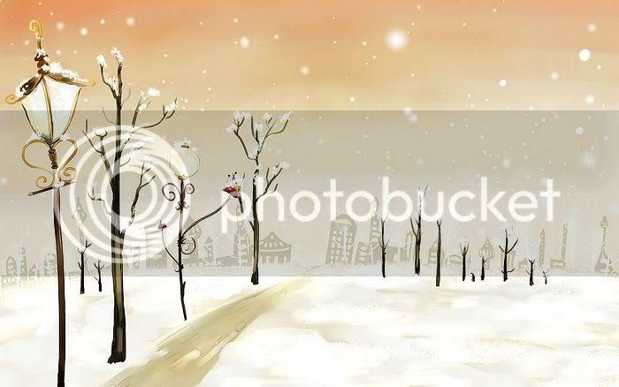 wallpaper khung cảnh mùa đông Vector_winter_illustration_ViewI-4