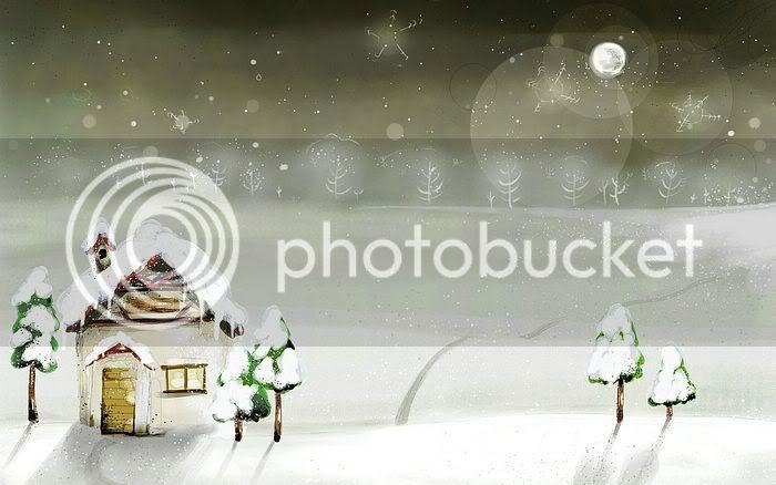 wallpaper khung cảnh mùa đông Vector_winter_illustration_ViewI-6