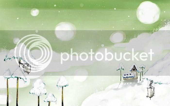 wallpaper khung cảnh mùa đông Vector_winter_illustration_ViewI-7