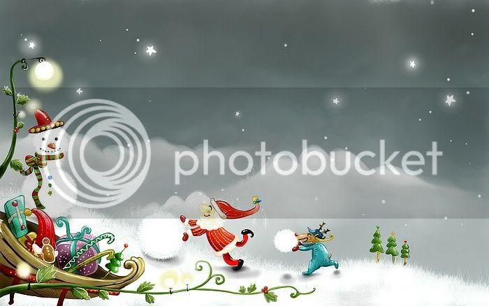 wallpaper khung cảnh mùa đông Vector_winter_illustration_ViewIllu