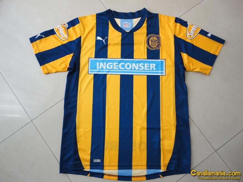 [PEDIDO][PES6] Camiseta Rosario Central 2011/2012 DSC02373