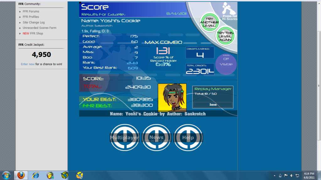 Post your FFR Scores here! - Page 13 Daeff