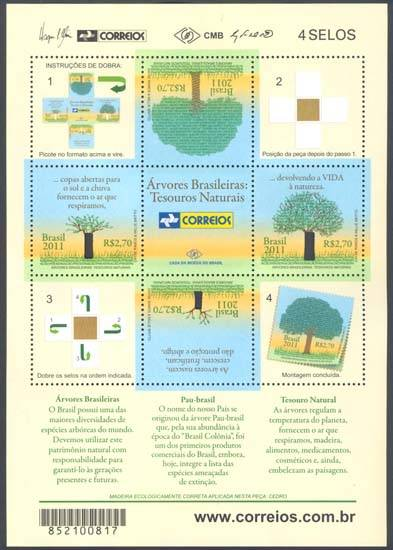 Emissions de Brésil - 2011 24-blocoarvores