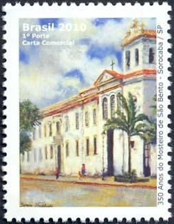 Emissions de Brésil - 2010 06-MosteiroSoBentodeSorocaba