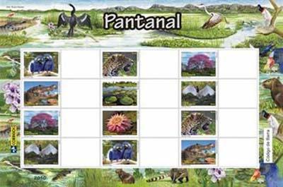Emissions de Brésil - 2010 19xp-Pantanal