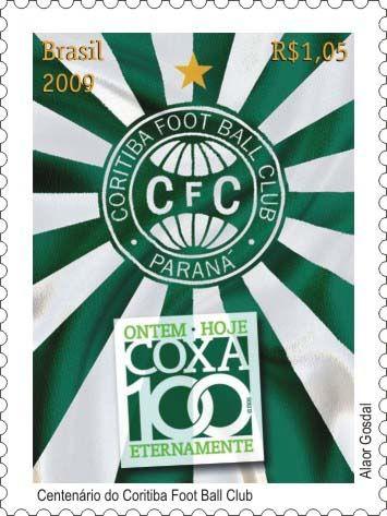 Emissions de Brésil - 2009 32-coritiba