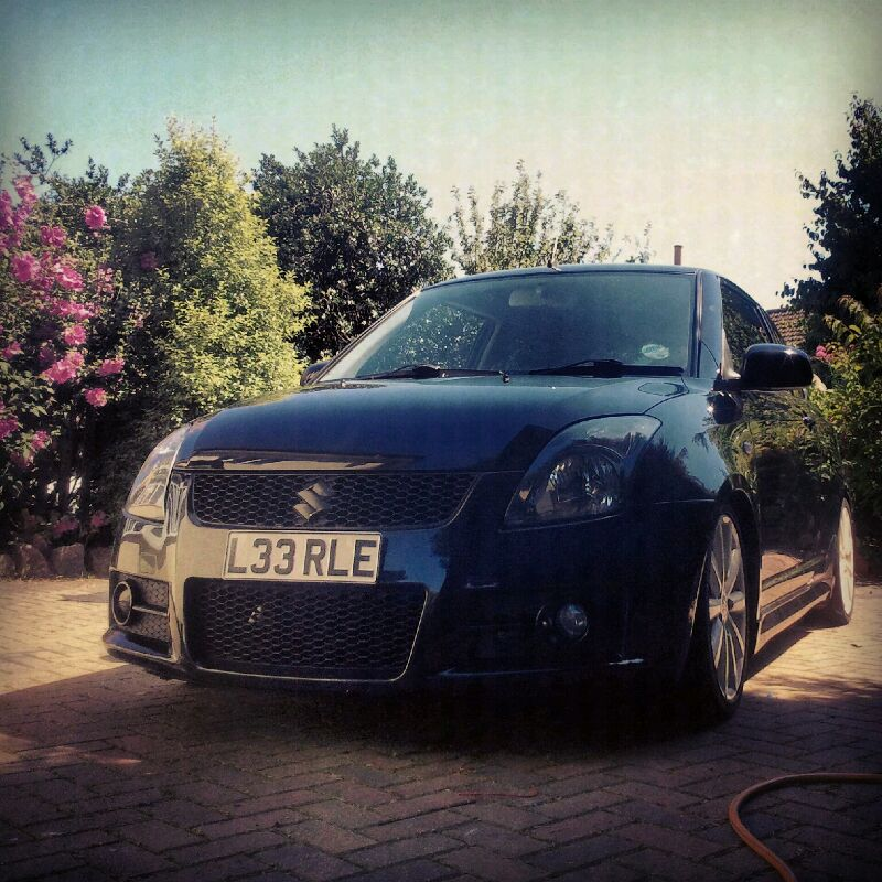 Not a gti but a boosted swift IMG-20120719-WA0001