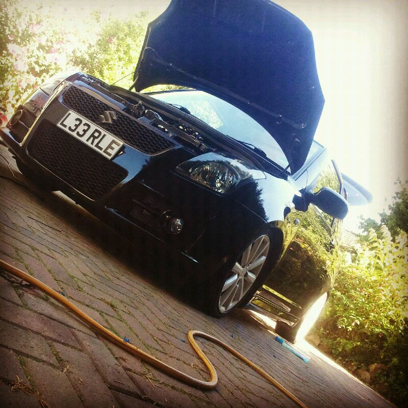 Not a gti but a boosted swift IMG-20120721-WA0000
