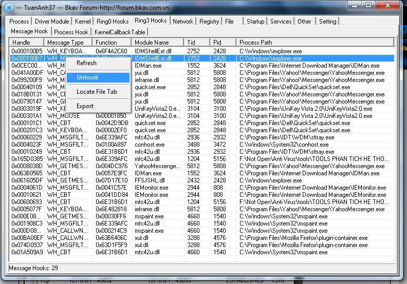 """Công cụ hỗ trợ diệt Virus """"bằng tay"""" siêu mạnh-XueTr [Anti-Virus & Rootkit] 009"""