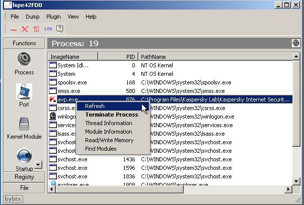 """Công cụ hỗ trợ diệt Virus """"bằng tay"""" siêu mạnh-XueTr [Anti-Virus & Rootkit] 002"""