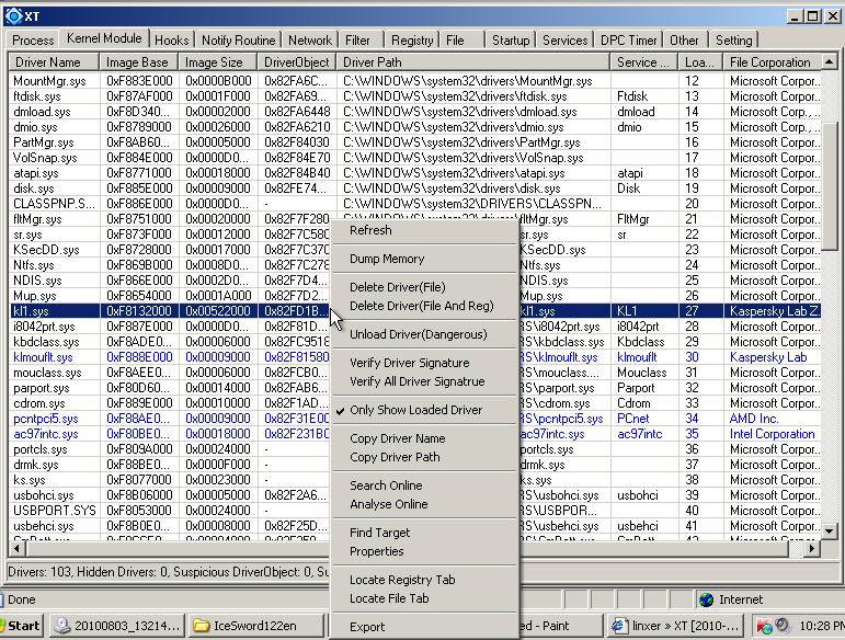 """Công cụ hỗ trợ diệt Virus """"bằng tay"""" siêu mạnh-XueTr [Anti-Virus & Rootkit] 019"""