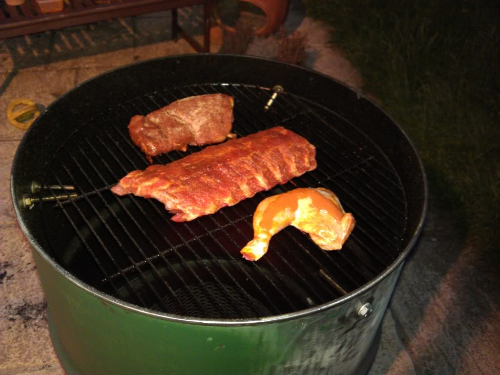Made a smoker at home from an oil drum IMG_20120609_215712