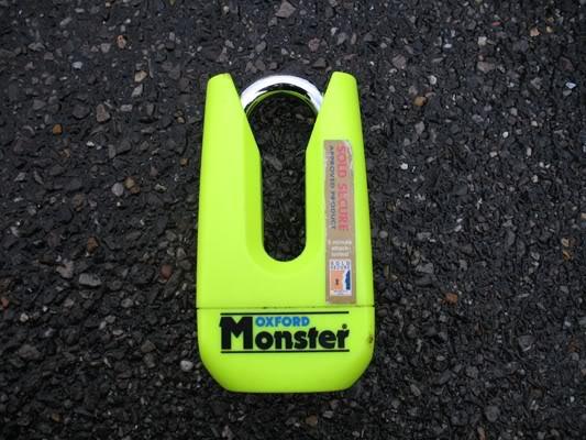 Disc lock (fairing damage) MonsterDisc