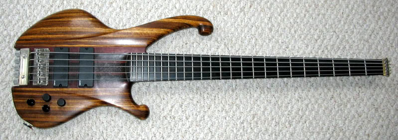 Achiles NH-1 Custom Headless Bass DavidKing5005