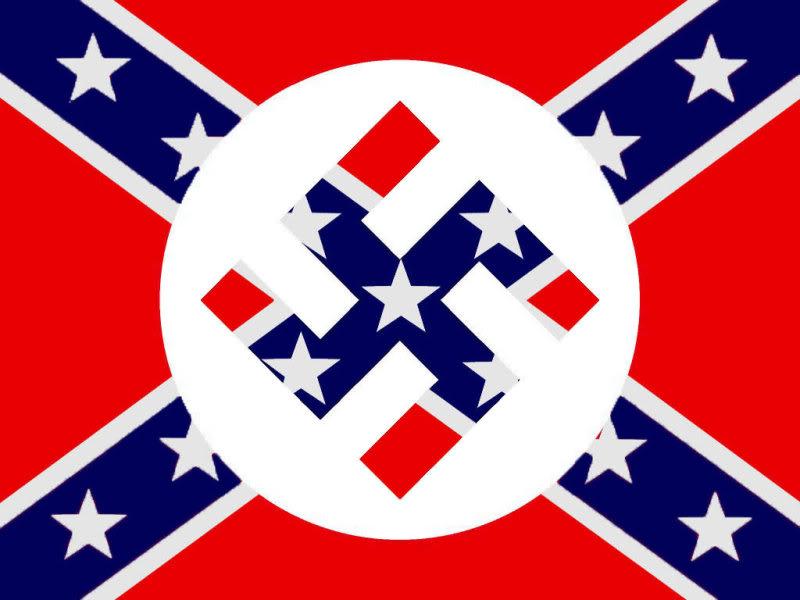 SUPPRESSION DES LIBERTES DU WEB - Page 2 Confederatenaziflag