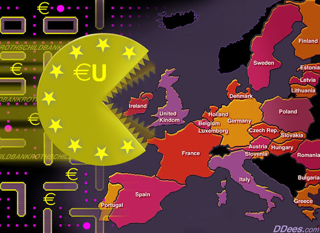 EFFONDREMENT ECONOMIQUE MONDIAL EU-Attack