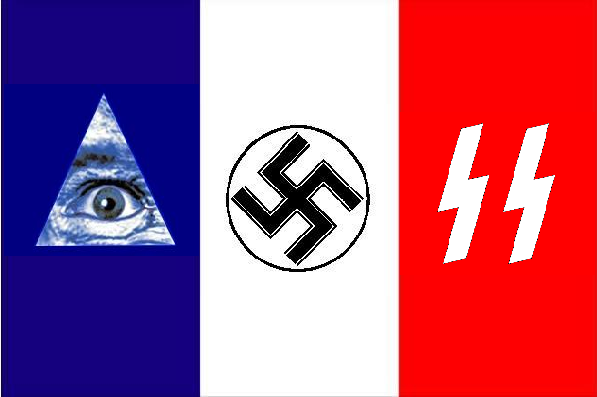 2012 : PISTAGE DES CITOYENS : SATELLITES, CAMERAS, SCANNERS, BASES DE DONNEES, IDENTITE & BIOMETRIE FrenchFlag_NewNaziWorldOrder
