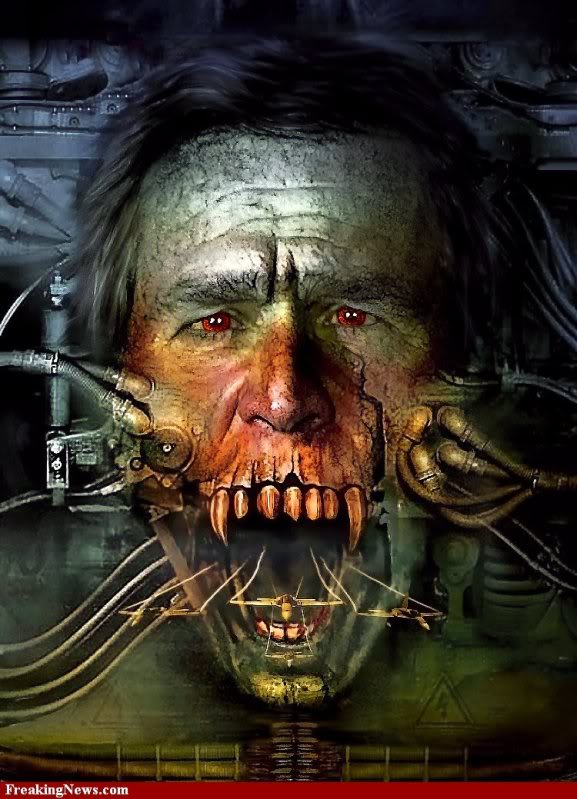 2011 : PUCES IMPLANTABLES, RFID, NANOTECHNOLOGIES, NEUROSCIENCES, N.B.I.C. ET CYBERNETIQUE ! Halloween-Horror--cyborg-1