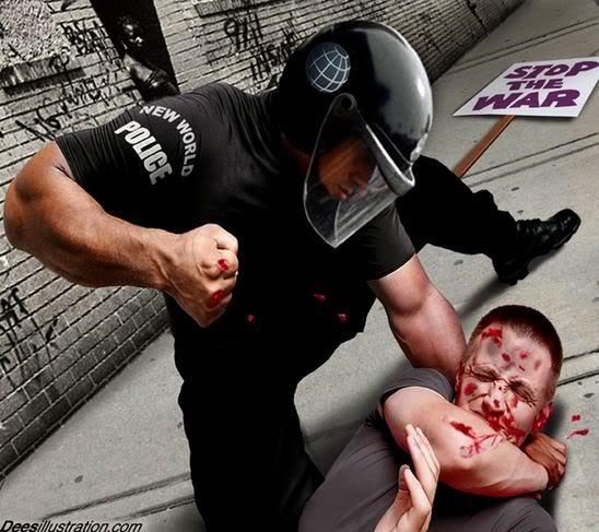 FASCISME, DICTATURE, ETAT-POLICIER, TERRORISME D'ETAT NWOpolice2_dees