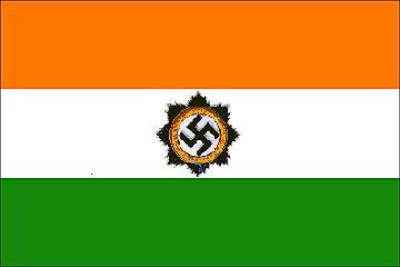2010 : PISTAGE DES CITOYENS : SATELLITES, CAMERAS, SCANNERS, IDENTITE & BIOMETRIE - Page 2 NaziIndia_flag