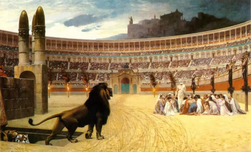 LOIS TOTALITAIRES ET MESURES LIBERTICIDES The_Christian_Martyrs_Last_Prayer