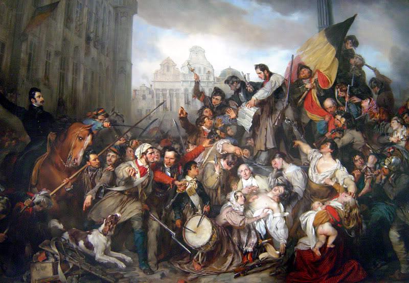 EFFONDREMENT ECONOMIQUE MONDIAL - Page 2 Wappers_belgian_revolution