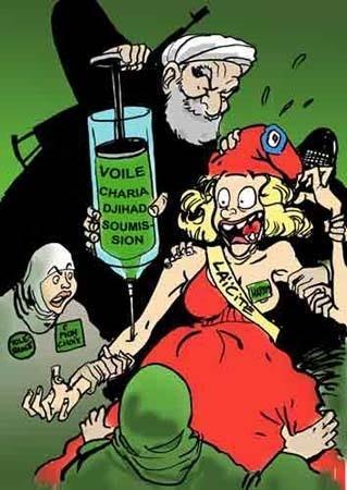 LA MONDIALISATION ET LES DANGERS DE L'ISLAM RADICAL Aberrations-islam-lacit