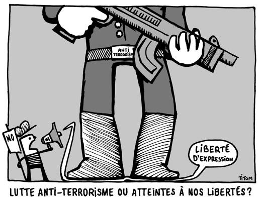 """11 SEPTEMBRE 2011 : TERRORISME D'ETAT ET SUPPRESSION DES LIBERTES SUR TOUTE LA PLANETE AU NOM DE """"L'ANTI-TERRORISME"""" ET DU MYTHE DE LA SECURITE INTEGRALE ! Antiterrorisme"""