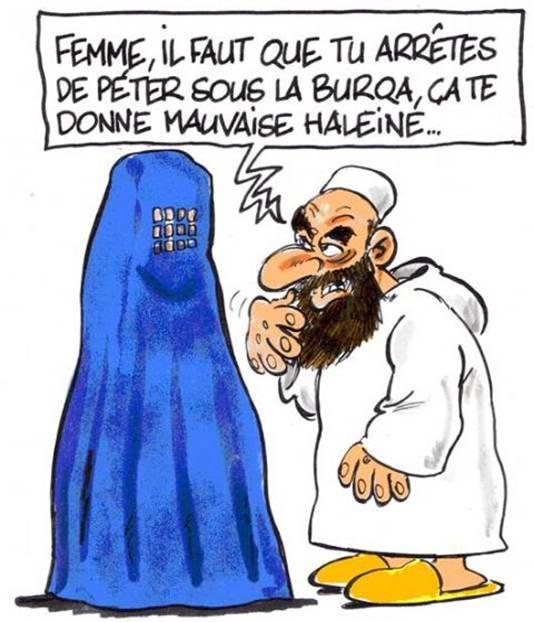 LA MONDIALISATION ET LES DANGERS DE L'ISLAM RADICAL Burqa