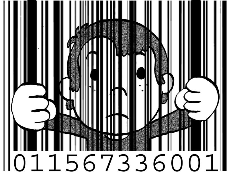 2011 : PUCES IMPLANTABLES, RFID, NANOTECHNOLOGIES, NEUROSCIENCES, N.B.I.C. ET CYBERNETIQUE ! - Page 4 Enfant-code-barre-prison