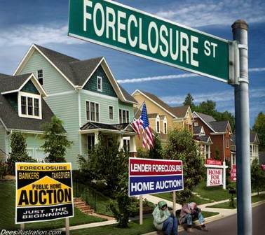 EFFONDREMENT ECONOMIQUE MONDIAL Foreclosure