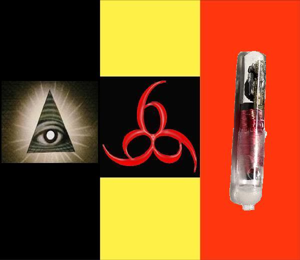 2012 : PISTAGE DES CITOYENS : SATELLITES, CAMERAS, SCANNERS, BASES DE DONNEES, IDENTITE & BIOMETRIE Belgiumflag_markofthebeast_666