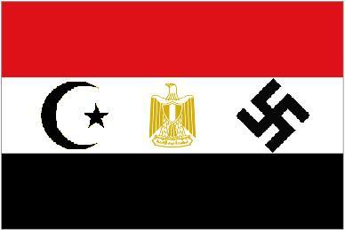 LA MONDIALISATION ET LES DANGERS DE L'ISLAM RADICAL Egypte_drapeaumusulmannazi