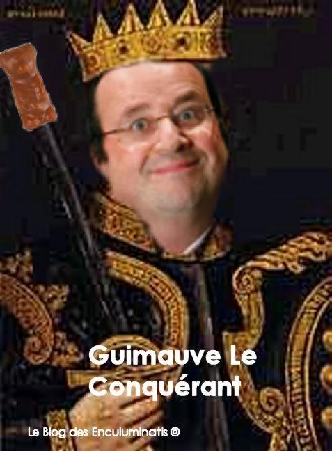 FASCISME, DICTATURE, ETAT-POLICIER, TERRORISME D'ETAT - Page 5 Hollande_GuimauveleConqurant